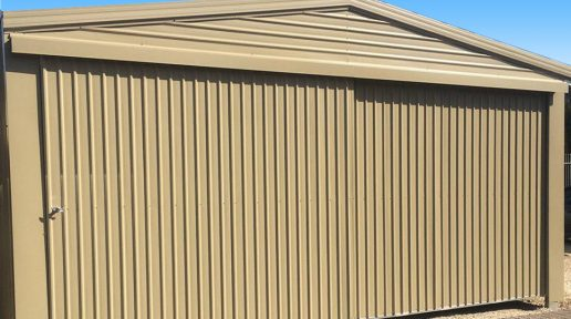Double Garage in Cove® with Sliding Doors