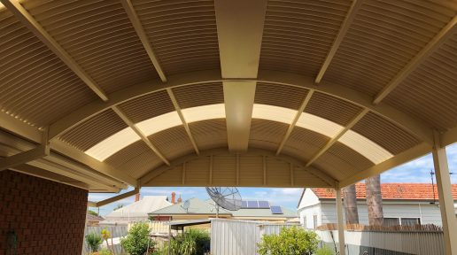 Attached Curved Verandah