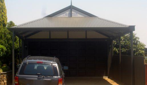 dutch gable carport