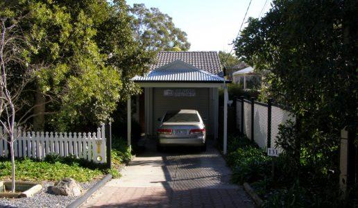 single dutch gable carport