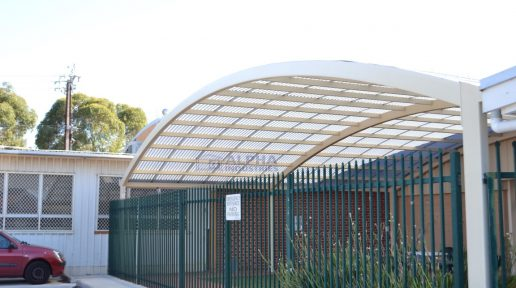 Thebarton Aquatic Centre in Classic Cream™ Powdercoated