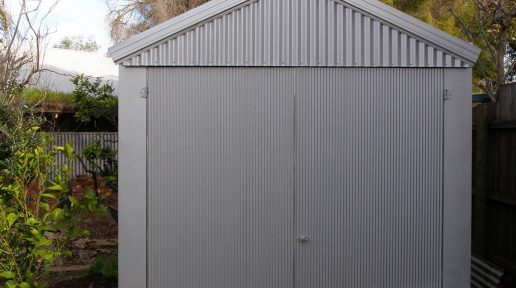 gable shed swing doors