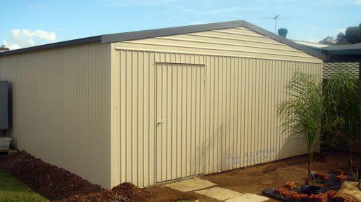 shed access door