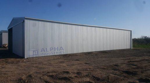 ZINCALUME® Farm Shed with Gable Sliding Doors