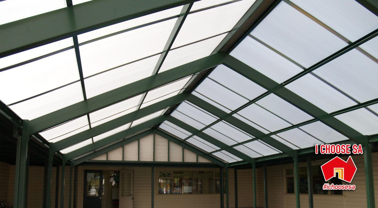 cola verandah covered outdoor learning area